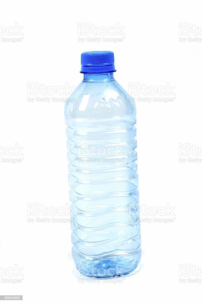 Leere Kunststoff-Flasche – Foto