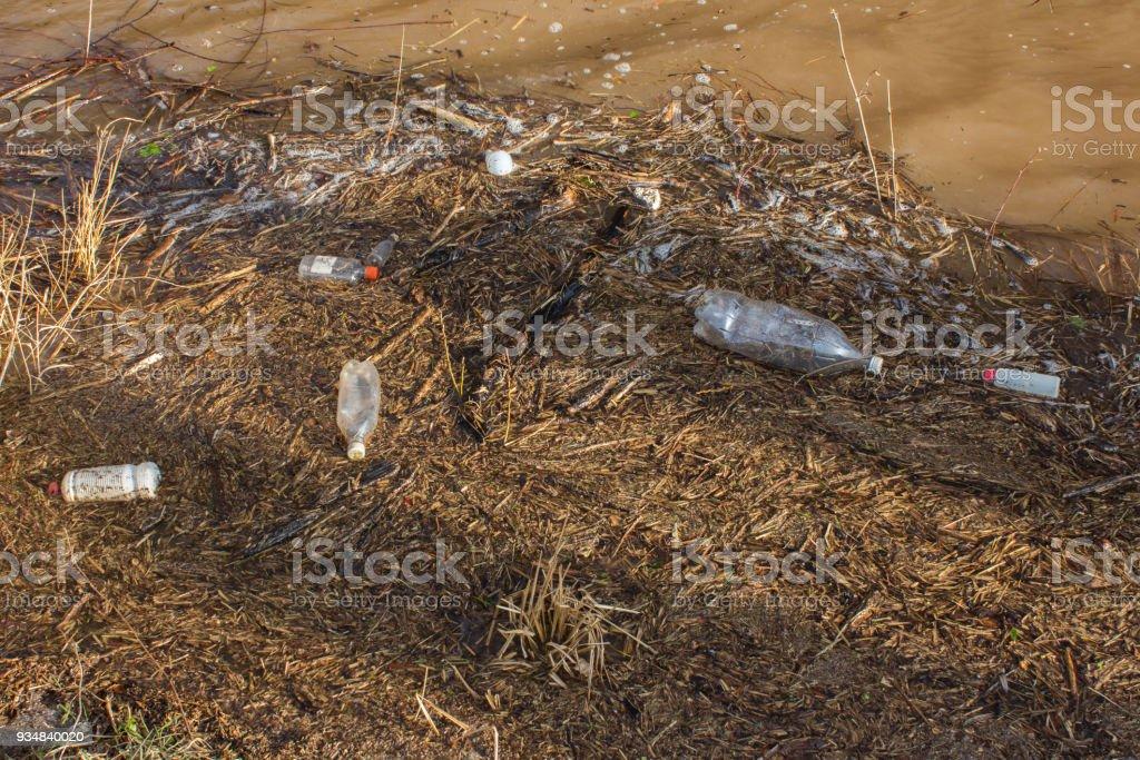 빈 플라스틱 병 강입니다. - 로열티 프리 0명 스톡 사진