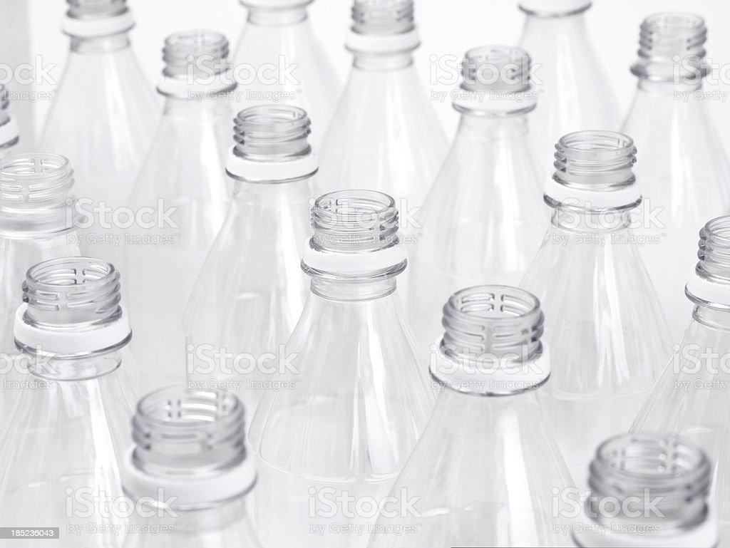 Leere Plastikflaschen – Foto
