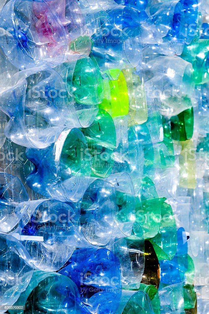 Puste butelki z tworzyw sztucznych zbiór zdjęć royalty-free