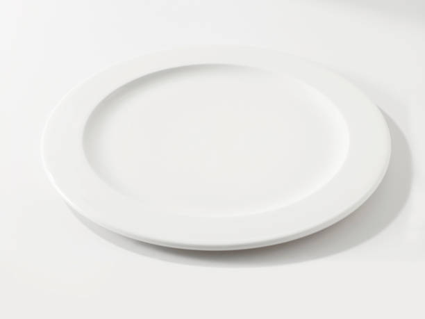 empty plate - plate stock pictures, royalty-free photos & images
