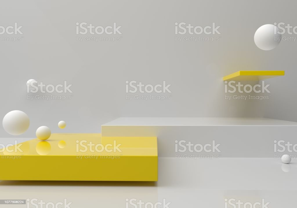 Leere Plattform - Lizenzfrei Abstrakt Stock-Foto