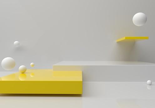 Leere Plattform Stockfoto und mehr Bilder von Abstrakt