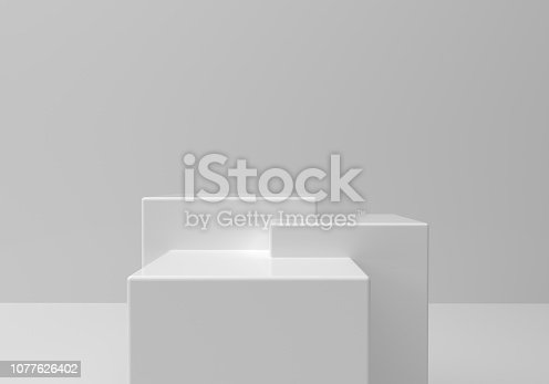 istock Empty platform 1077626402