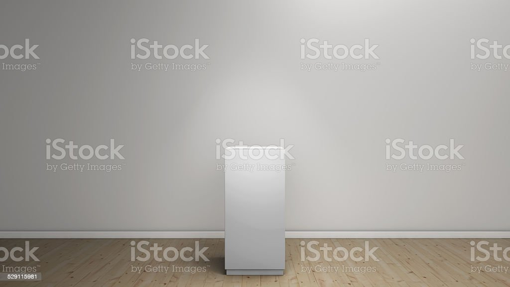 empty plinth stock photo