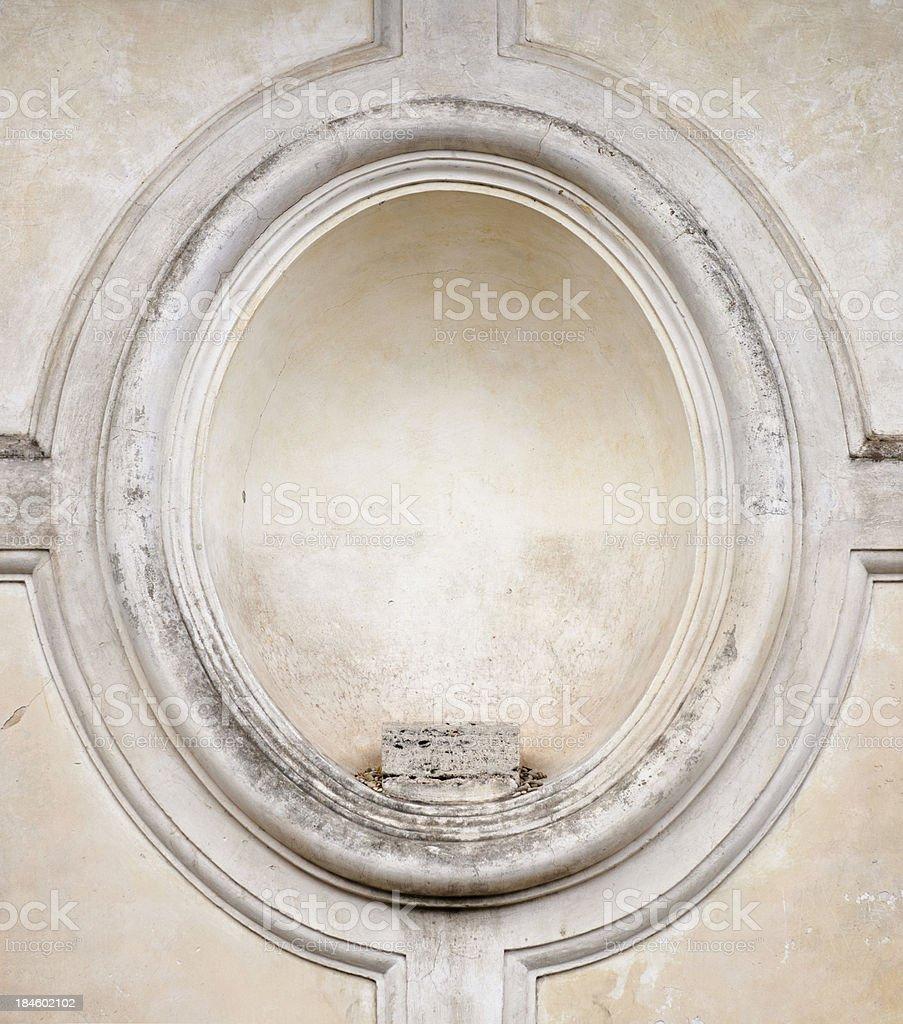 Empty Plinth Surround royalty-free stock photo