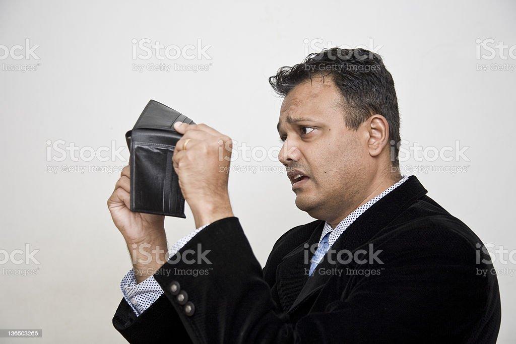 Empty Pockets royalty-free stock photo