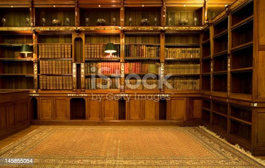 istock Empty reading room 145855054