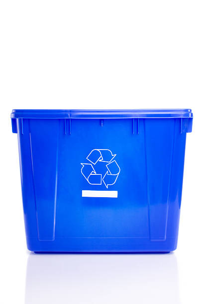 empty recycle bin - recycling bin stock photos and pictures