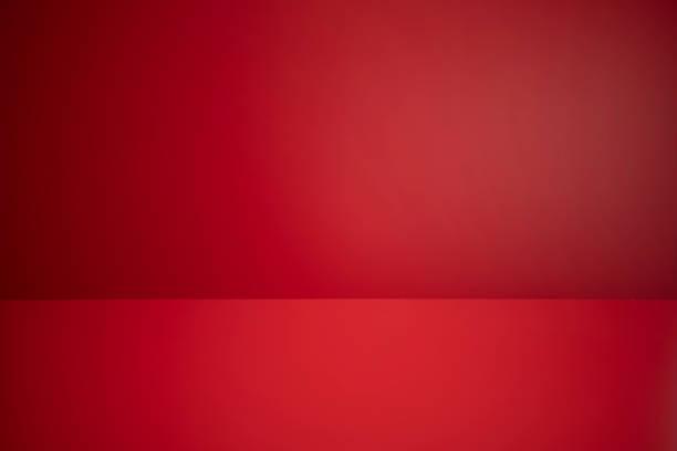 Empty Red Room stock photo