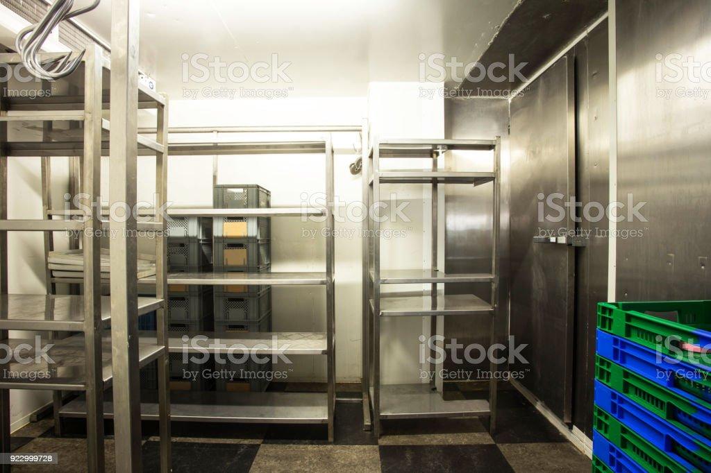 Empty Restaurant Kitchen Storage Room Stainless Steel Stock Photo Download Image Now Istock