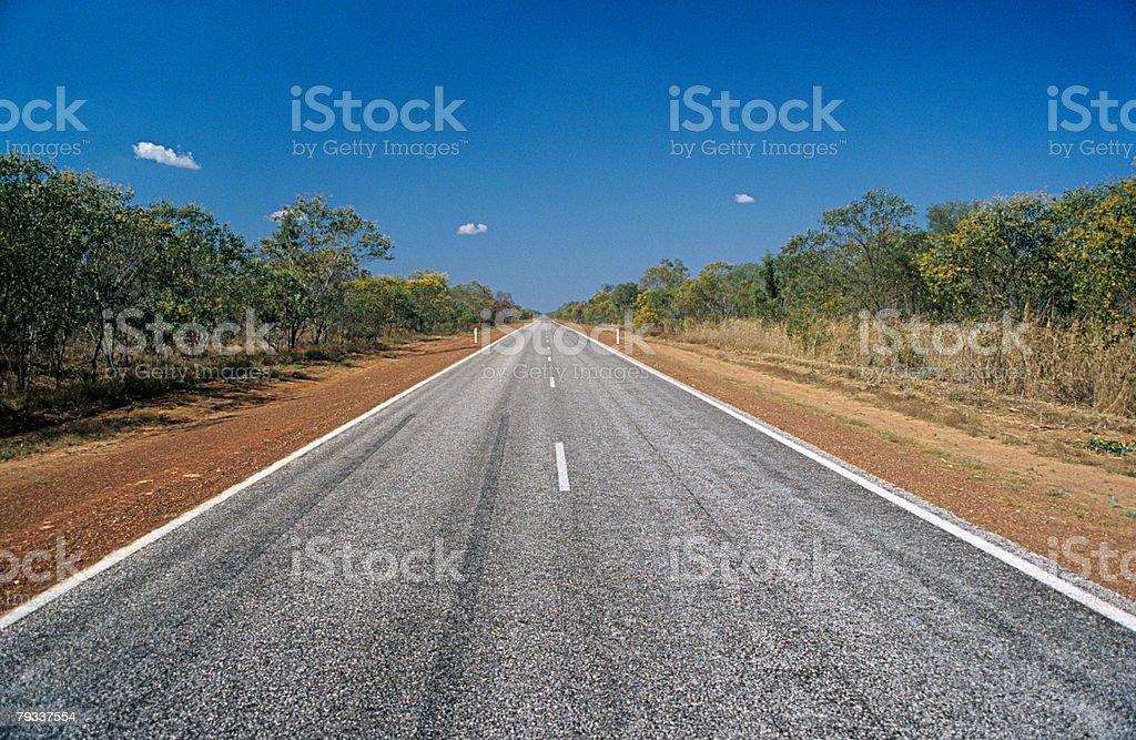 엠티 road royalty-free 스톡 사진