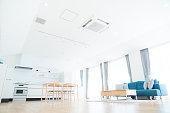 Empty room and interior.