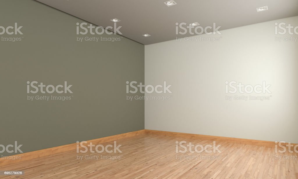 Empty Room Design stock photo