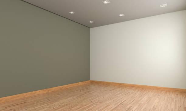 Empty Room Design stock photo
