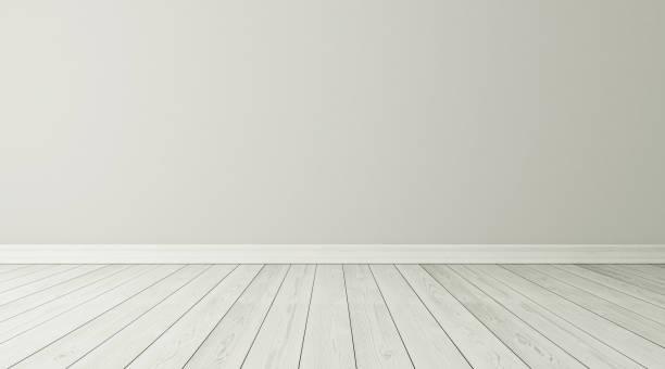 Empty room interior background stock photo