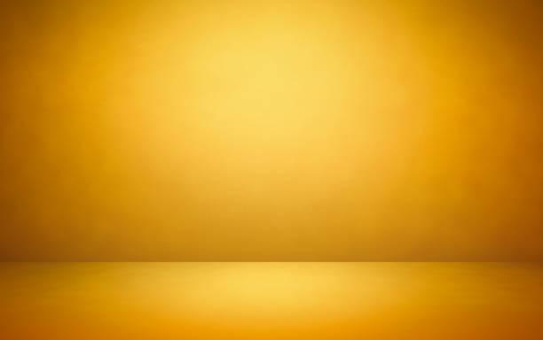 vacío interior de la habitación - amarillo color fotografías e imágenes de stock