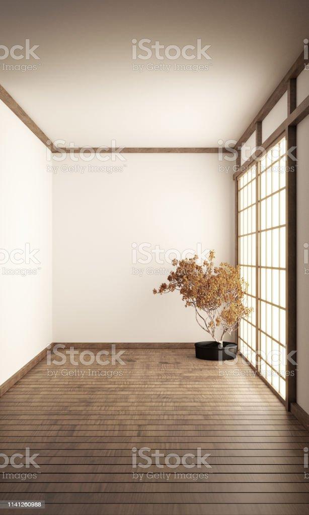 Photo libre de droit de Chambre Vide Style Zen Intérieur ...
