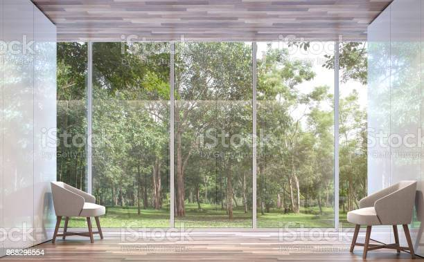 Empty room modern space with nature view 3d rendering image picture id868296554?b=1&k=6&m=868296554&s=612x612&h=uvekvhvrw4o7ctw9nttximm7j8 hhfi3ybw8kpdqifu=