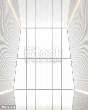 658604764istockphoto Empty room modern white space interior 3d rendering image 900727016