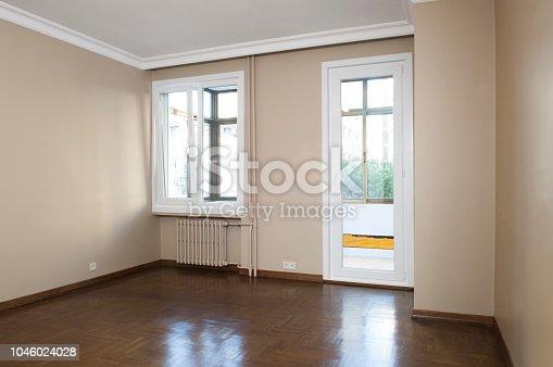 istock Empty Room 1046024028