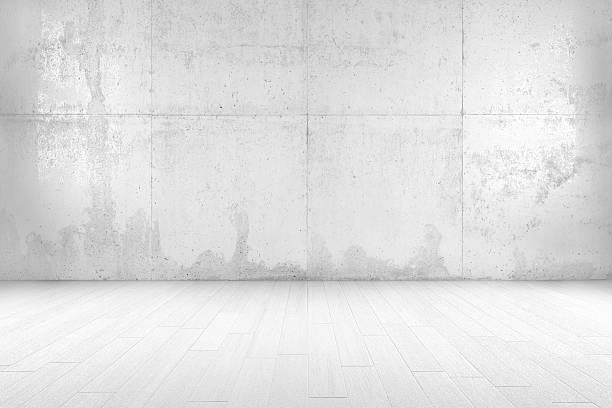 엠티 객실 - 콘크리트 벽 뉴스 사진 이미지
