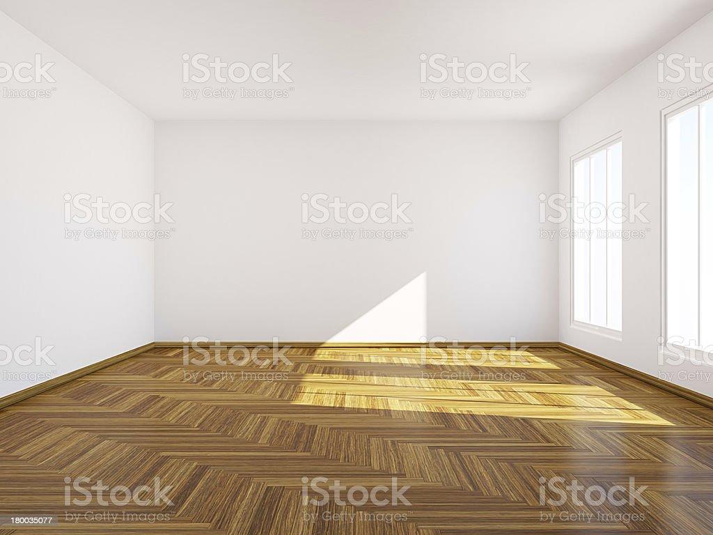 Empty room. royalty-free stock photo