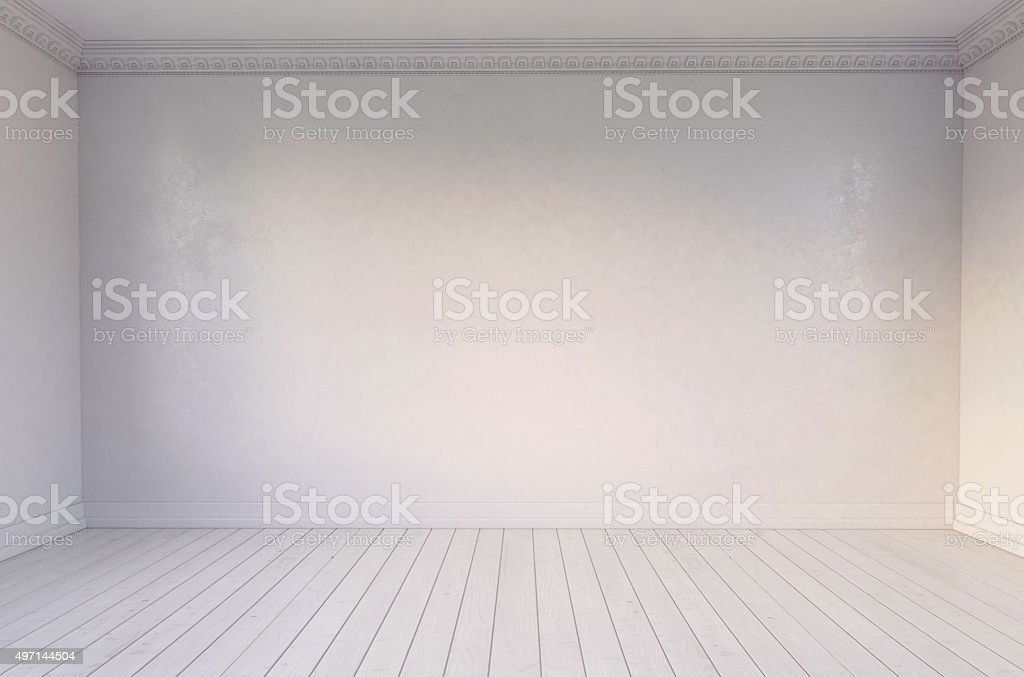 Habitación vacía - foto de stock