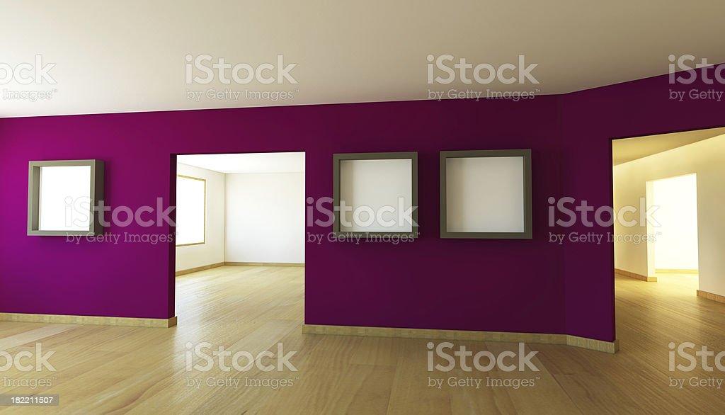 Pusty Pokój prezentacji – zdjęcie