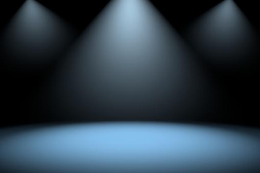 Empty room with illumination
