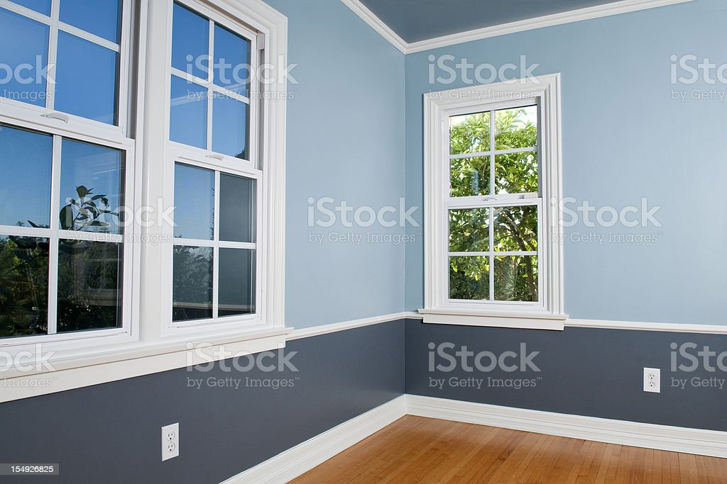 Empty Room With Window royalty-free stock photo