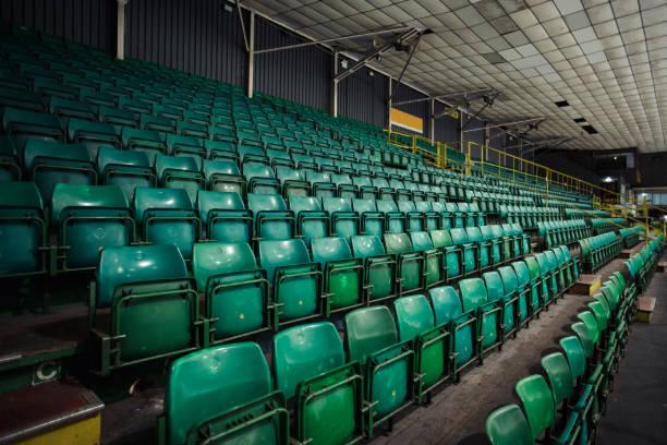 Empty stadiums stock photos