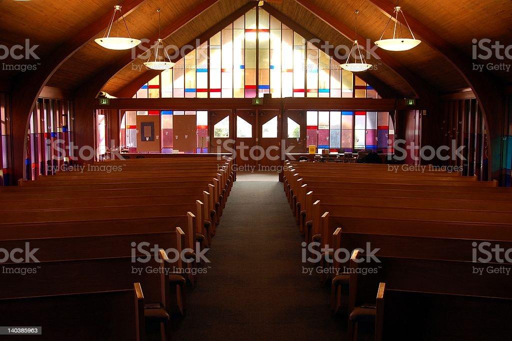 Empty Sanctuary #2 stock photo