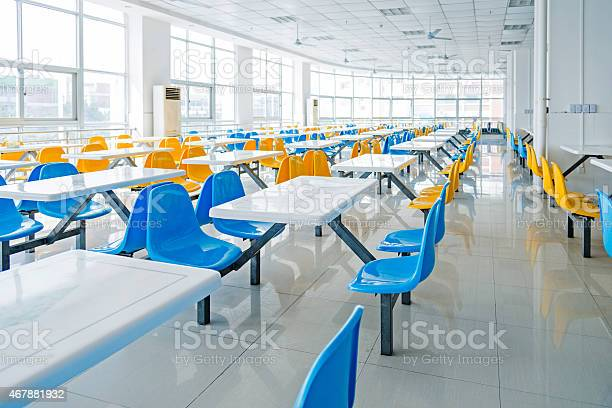 Empty school cafeteria picture id467881932?b=1&k=6&m=467881932&s=612x612&h=ynze5ozmtdyvhnbsqcva1rx8rjob3vokth6ht8a1igq=