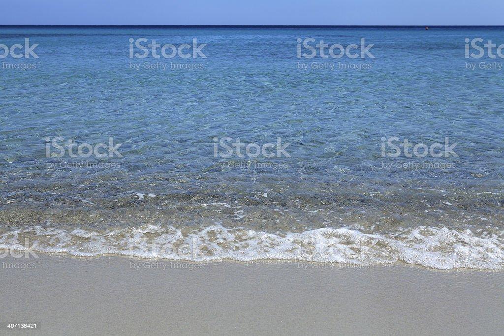 empty seascape royalty-free stock photo