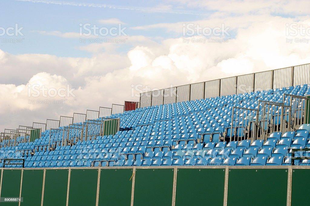 Empty seat royalty-free stock photo