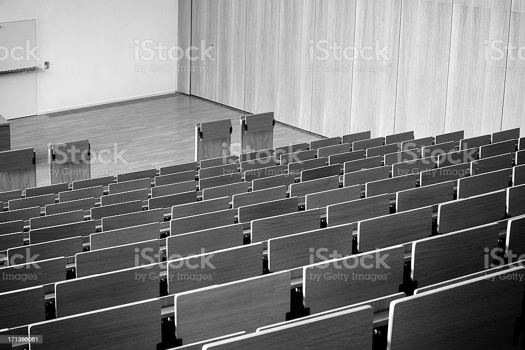 Leere Sitze, Hörsaal – Foto