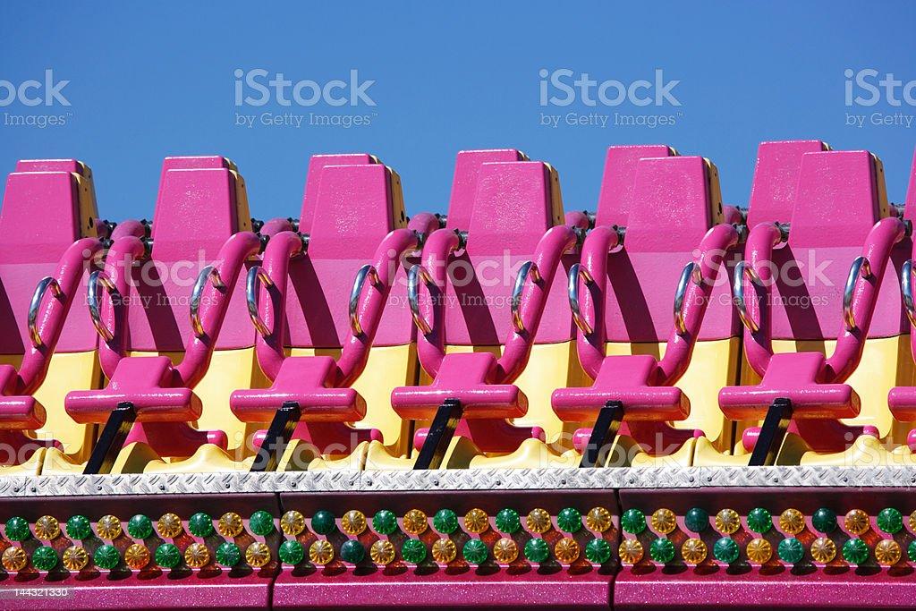 empty seats (XXL) stock photo