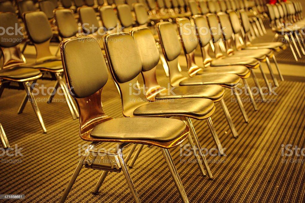 Empty Seats royalty-free stock photo