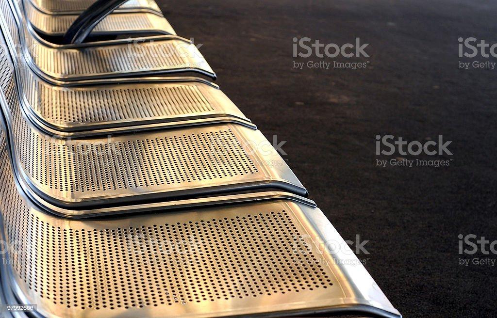 Empty seats.. royalty-free stock photo