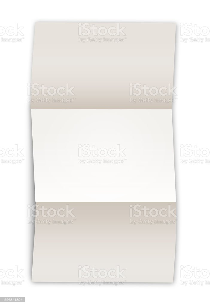 Empty sheet of paper royalty-free stock photo