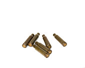 istock empty shells from cartridges for a firearm 1201608412