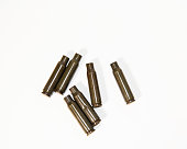 istock empty shells from cartridges for a firearm 1201608469