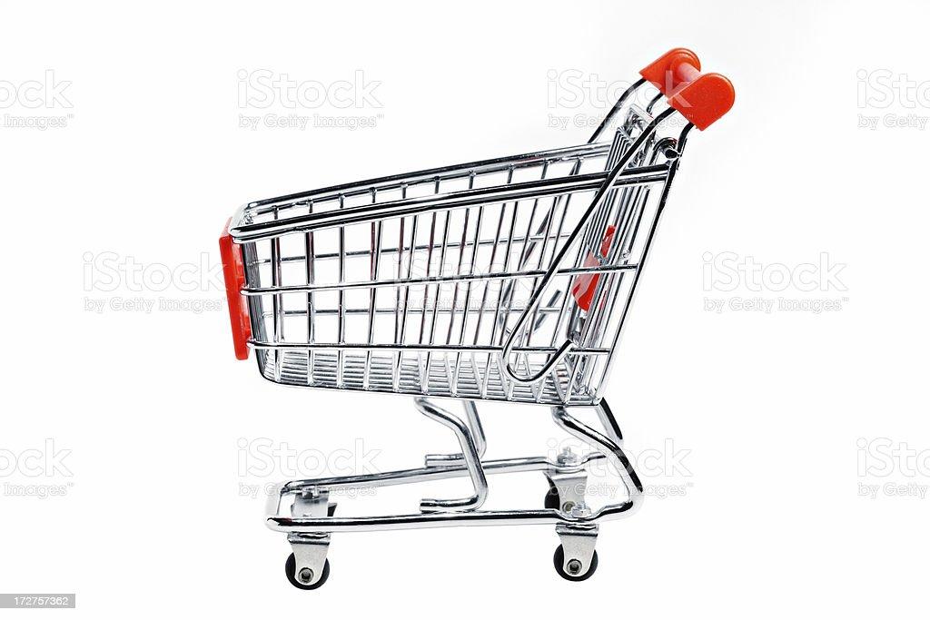 Empty Shopping Cart royalty-free stock photo