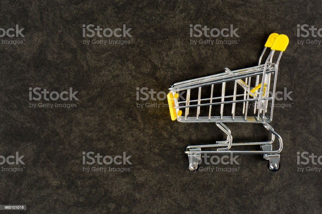 Empty Shopping Cart royalty-free stock photo