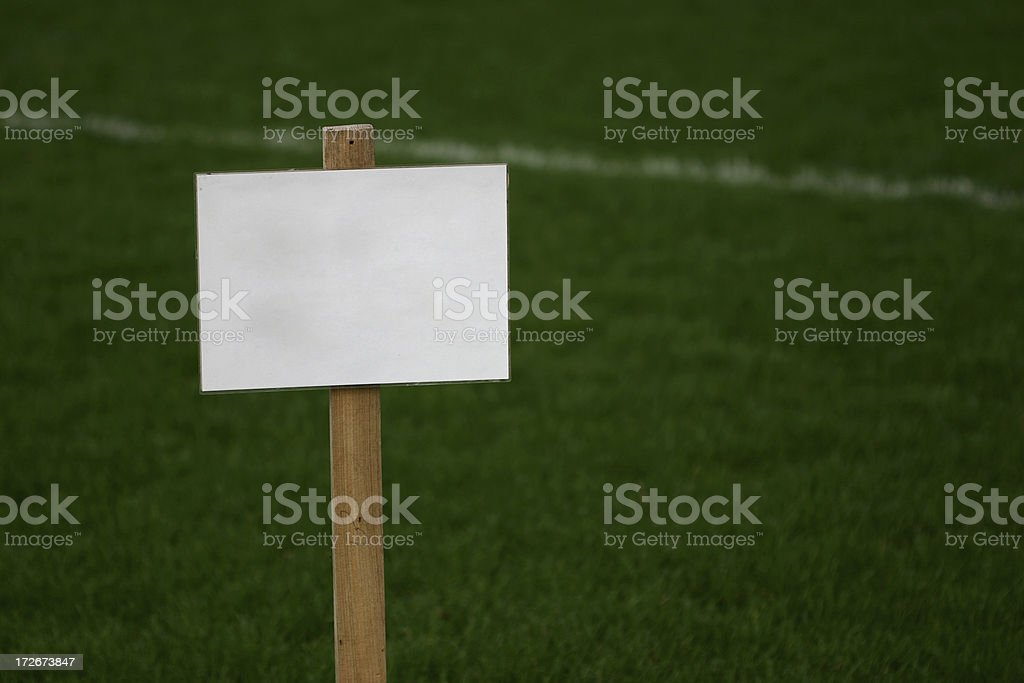 Empty sign 6 royalty-free stock photo