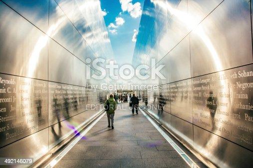 istock Empty Sky Memorial 492146079