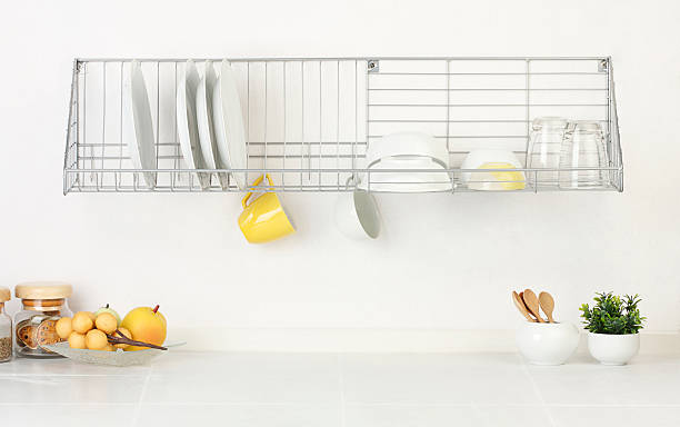 Empty space of the kitchen interior stock photo