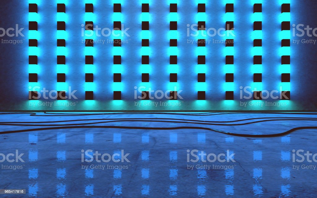 Empty space.Music concept.3d illustration royalty-free stock photo