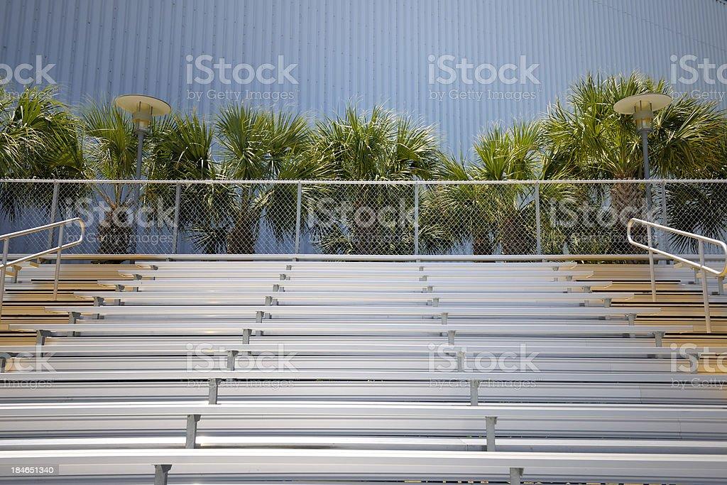 empty spectator stadium royalty-free stock photo